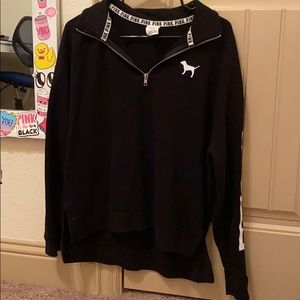 vs half zip up sweatshirt